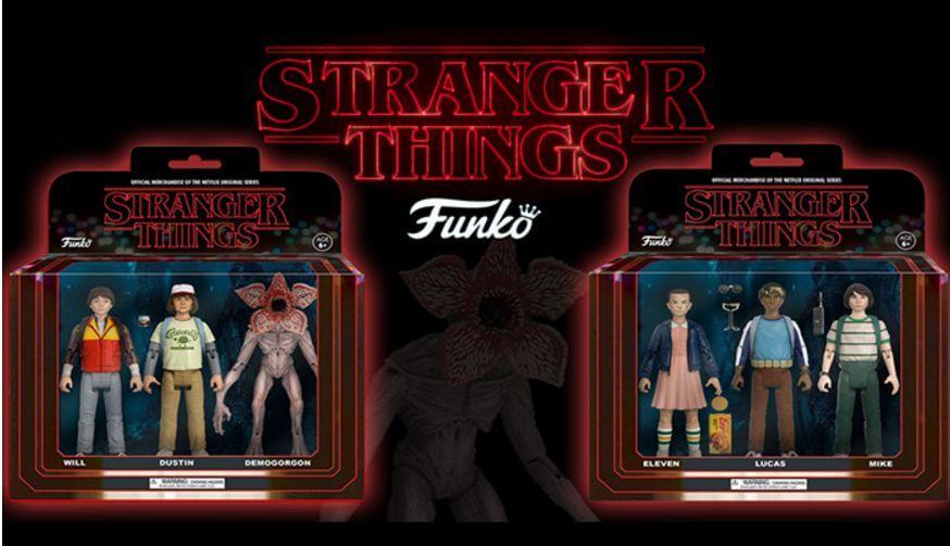 Así se ven las figuras de acción de Stranger Things