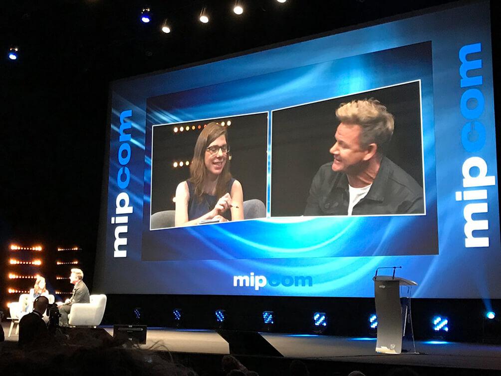 Mipcom – Dia 1: Do Vídeo Aos Dados E Até Gordon Ramsay