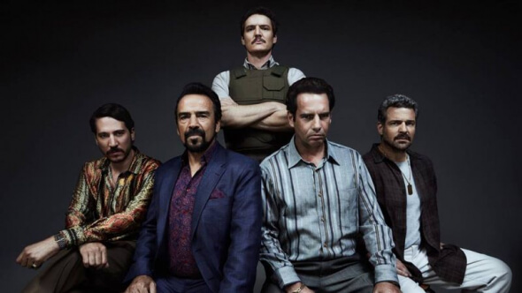 'Narcos' had people addicted and Marvel's 'The Defenders' dropped in demand