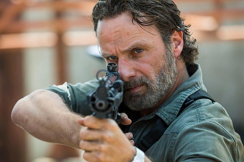 The Walking Dead foi uma das séries de TV mais populares de 2017