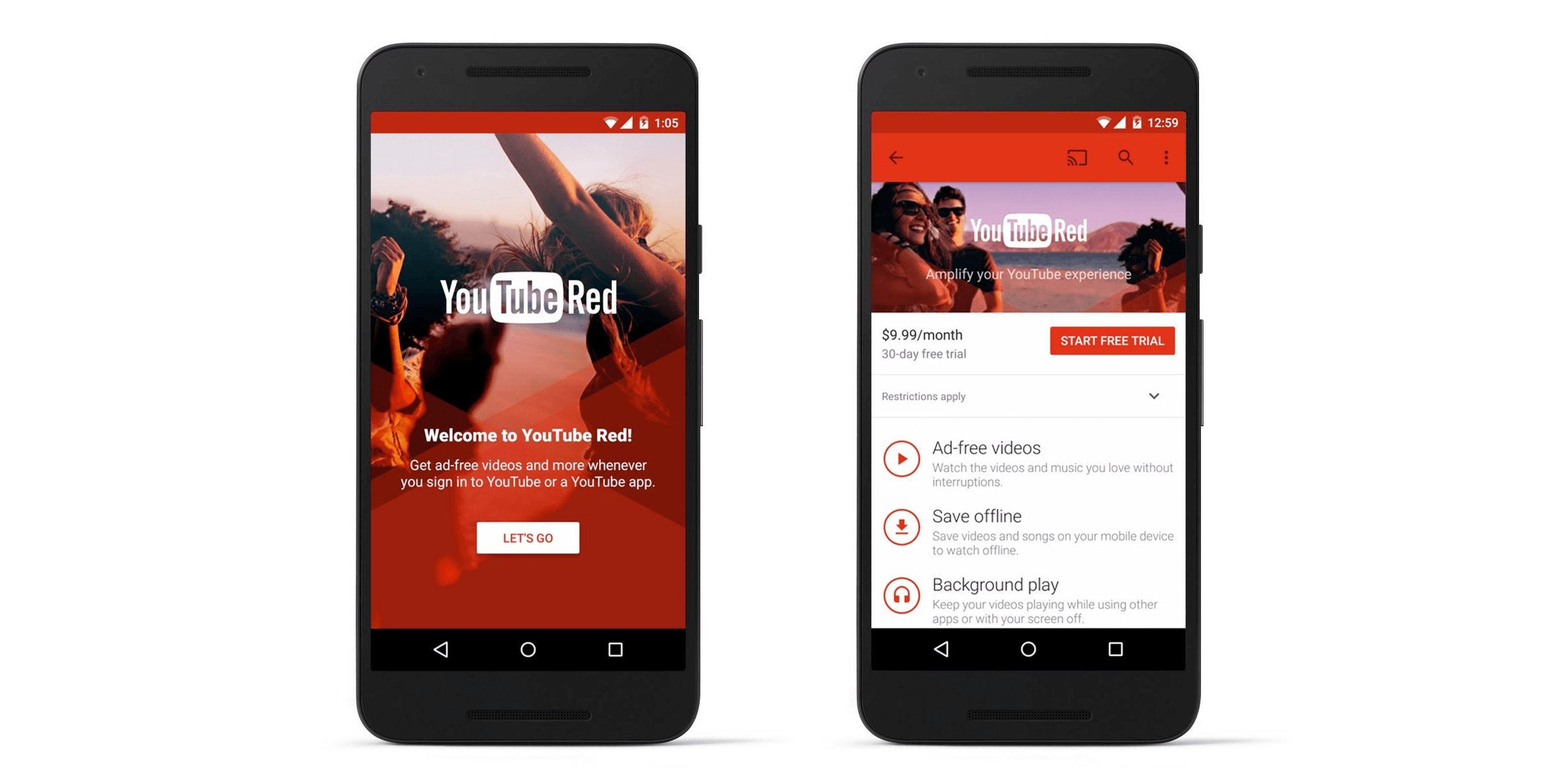 Google Is Breaking Up YouTube Red Into 2 New Subscription Services For Music and Video