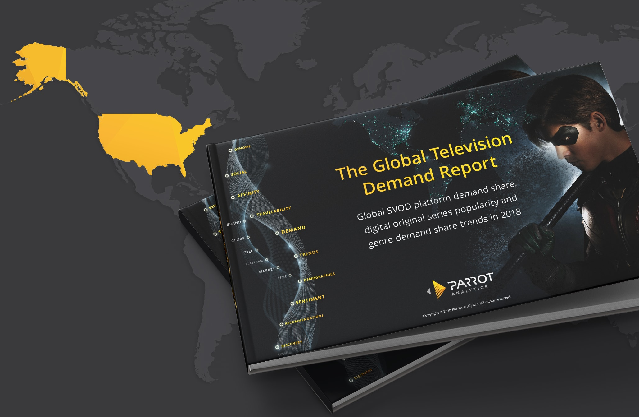 The global success of United States local TV productions and television subgenre insights