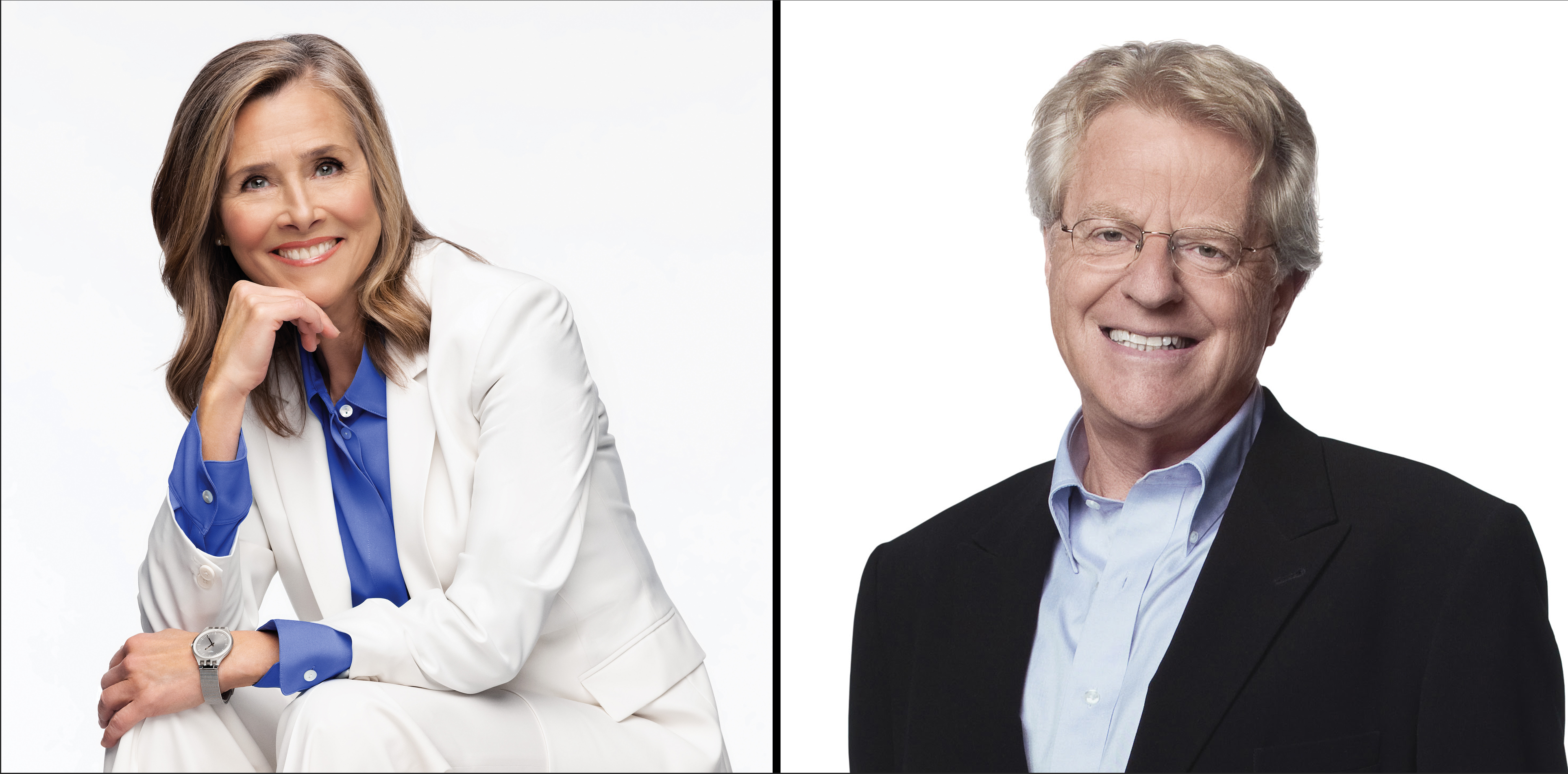 Meredith Vieira and Jerry Springer added as presenters at Parrot Analytics' Global TV Demand Awards